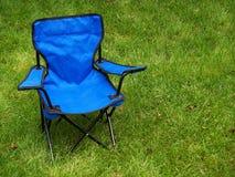 Folding camp chair Royalty Free Stock Photos