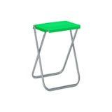 Folding camping stool Royalty Free Stock Photo