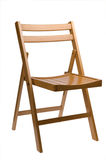 Folding chair Royalty Free Stock Photo
