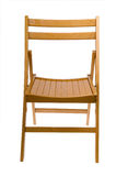 Folding chair Royalty Free Stock Images
