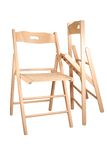 Folding chair Royalty Free Stock Photography