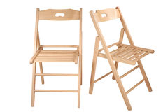 Folding chair Stock Image