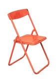 Folding chair Royalty Free Stock Photos