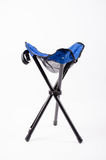 Folding chair camping Royalty Free Stock Photos