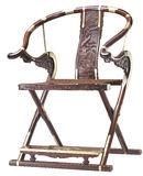 Folding chair  of chinese classic furniture. Folding chair  once was a symbol of Stock Image