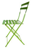Folding Chair Green Stock Image