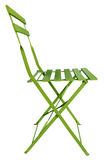 Folding Chair Green Stock Photos