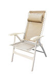 Folding chair isolated Royalty Free Stock Photo