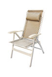 Folding chair isolated Royalty Free Stock Images