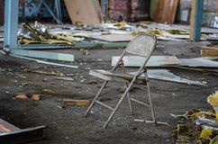 Folding Chair 0046 royalty free stock photo