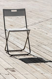 The folding chair. Royalty Free Stock Images