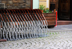 Folding chairs Stock Photos