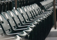 Folding chairs Royalty Free Stock Photography