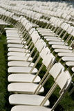 Folding chairs Stock Images