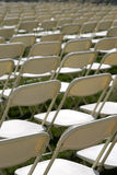 Folding chairs Stock Photo