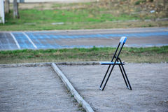 Folding Chairs Royalty Free Stock Image