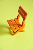 Folding chairs Model Close Royalty Free Stock Photos