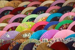 Folding fan Stock Photography