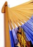 Folding fan Stock Image