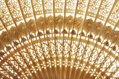 Folding fan background Royalty Free Stock Image