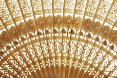 Folding fan background Royalty Free Stock Image