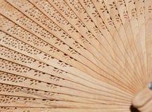 Folding fan background. Royalty Free Stock Photo