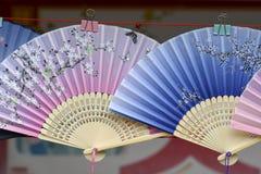 Folding fan Stock Images