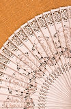 Folding fan Royalty Free Stock Images