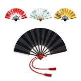 Folding Fan Set Royalty Free Stock Photo