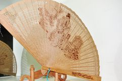 Folding fan Royalty Free Stock Photos