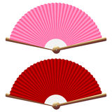Folding fans Royalty Free Stock Photos