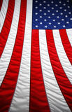 Folding the Flag Royalty Free Stock Photography