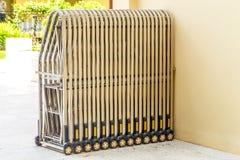 Folding gate. Stock Photo