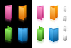 Folding Icons Stock Photo