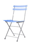 Folding iron chair. Stock Images