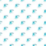 Folding knife pattern, cartoon style Royalty Free Stock Photo