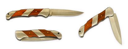 Folding knife. Royalty Free Stock Photography