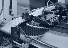 Folding Machine Detail Royalty Free Stock Images