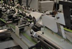 Folding machine detail Stock Images