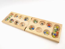 Folding Mancala Board Game Royalty Free Stock Images