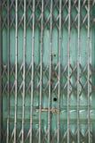 Folding metal door Royalty Free Stock Photo