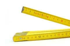 Folding meter Royalty Free Stock Photos
