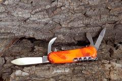 Folding multipurpose knife Stock Photography