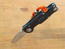 Folding pocket knife Stock Image