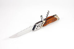 Folding pocket knife Royalty Free Stock Photos