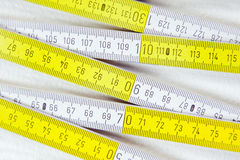 Folding rule Royalty Free Stock Photos