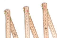 Folding ruler Stock Photos