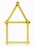 Folding ruler Royalty Free Stock Images
