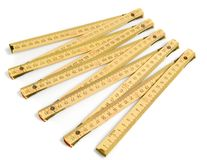 Folding ruler Stock Photo