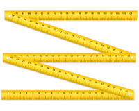 Folding ruler Royalty Free Stock Photography